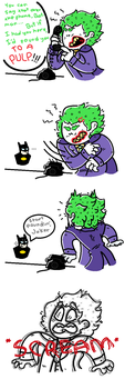 wow i can't believe the jokers fucking dead by sarcastic-overlord