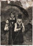 Maria and Gehrman sepia by Wingless-sselgniW
