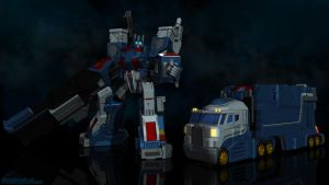 Ultra Magnus City Commander by Venksta