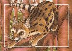 Treacherous Heights ACEO by Redwall151