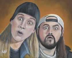 Jay and Silent Bob by ZomBieTOmmm