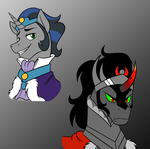 Good and Bad Sombra by Mickeymonster