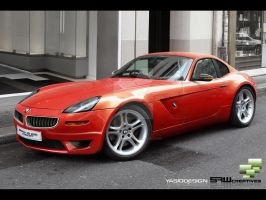 BMW Z8 2010 concept by yasiddesign