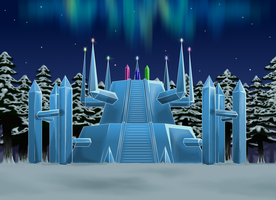 Shrine of the Aurora Emeralds by Sycotei-B