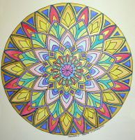 Mandala 1 by Artwyrd