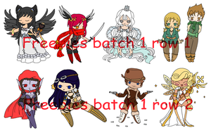 Freebies batch 1 by ladykayra