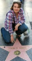 Charlie Sheen Star by CountessSana