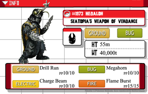 Kaijumon - # 1973 Megalon - Seatopia's Weapon by GreenGimmick