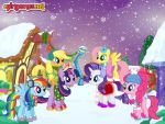 Mane Six Got A New Winter Style! by Sonkku1300