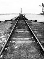 Railroad to no where land by Girlayy