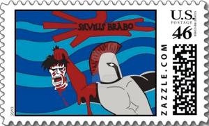 Hero Stamp: Silvius Brabo