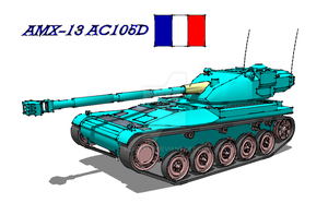 Amx-13 AC105D by Scryer117