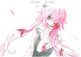 Gasai Yuno - Gore and Madness by PaleSun