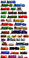 Thomas and Friends Animated Characters 10 by JamesFan1991