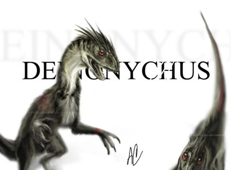 Deinonychus by ShadowKiwi