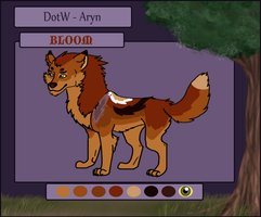 -:DOTW:- Bloom Ref -RETIRED- by SeleneTheWerewolf