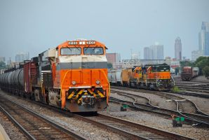 NS 8105 Interstate BNSF WAY 0057 8-19-13 by eyepilot13