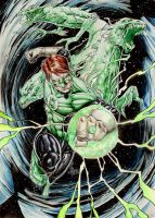 GREEN LANTERN dragon power by Vinz-el-Tabanas