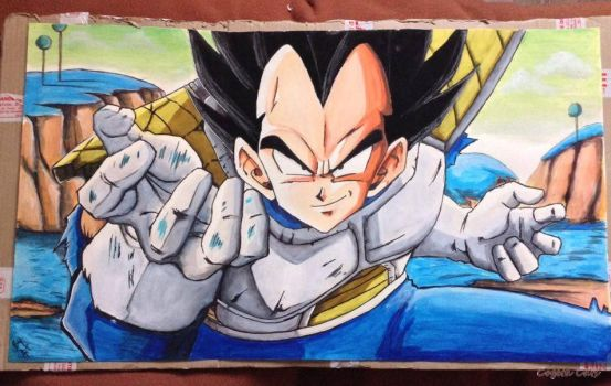 Vegeta, christmas gift by CogetaCats