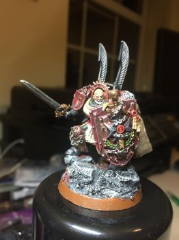Chapter master Pendragon by aj9000