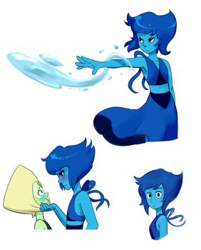 Lapis art dump by AngeliccMadness