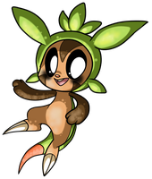Chespin. by MezmeroMania