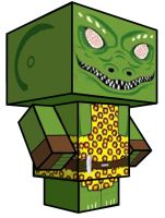 Cubee - Gorn Captain by 7ater