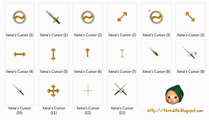 XWP Cursors by thredith
