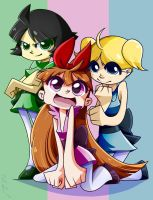 Powerpuff Girls by Candy-Panda