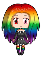 [Commission] Mini Chibi Prism by izka197