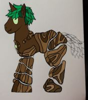 Pony OC: Dr.Buck Timberback WIP by TheAlphaAzn