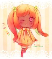 [CLOSED] Freesia Flower Child by chillichocolate