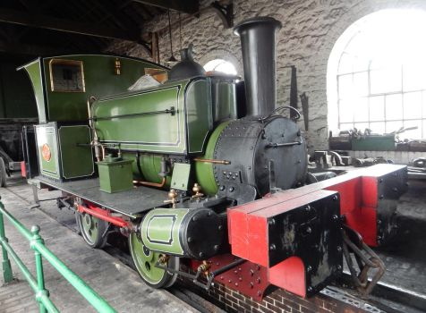 Seaham Harbour Dock Co Lewin 0-4-0st 18 at Beamish by rlkitterman