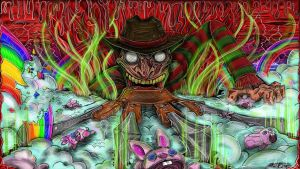 Only Nightmares / freddy Krueger by YeahManProductions