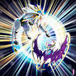 Solgaleo and Lunala by PedroLarez