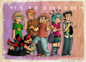 Scott Pilgrim vs. The World by cool-slayer