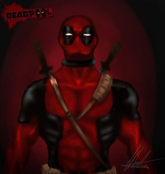 Deadpool fanart by Maru-ChanX3