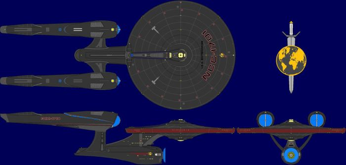 Mirror Universe JJ's ISS Enterprise NCC-1701 by dannyboy1890