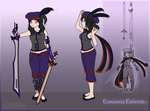[Character] Cassanna Reference by Voleno