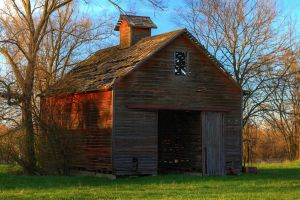Ancient Barn HDR by Mulsivaas