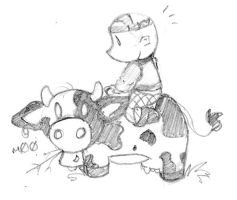 The Banik and the Cow by jovialserenity