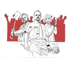 Shaun of the Dead by StevenWilcox