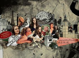 Leighton Meester No.13 by O-V-V-O