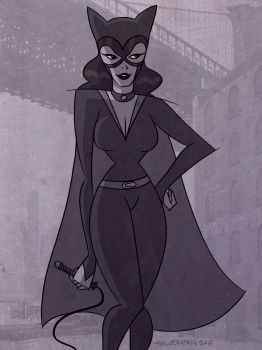 Catwoman by donutandwhisky