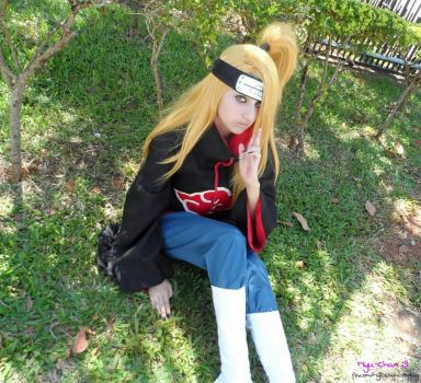 Deidara - Crossplay - by Myu-Chan-Cosplay