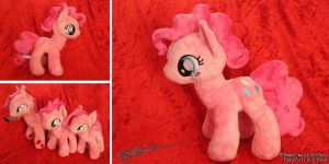 My Little Pony Pinkie Pie 11 Inch Plushie by LiChiba