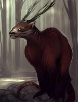 The Red Elkodo Dragon by Aleigh-B