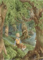The Green Forest by yaamas