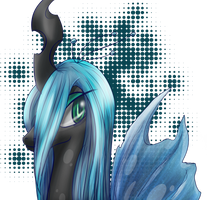 Queen Chrysalis by Mephilez