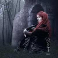 Distant Look by vampirekingdom